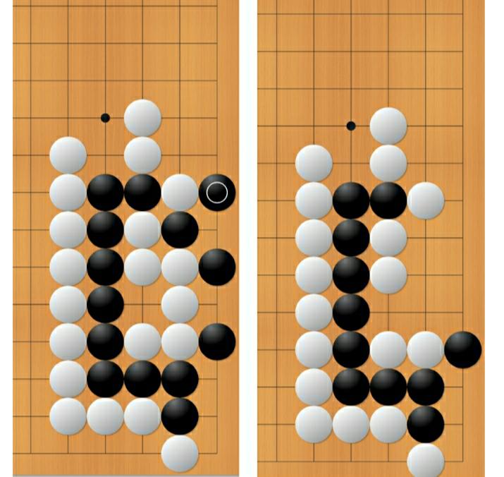 詰碁ですが、なぜ最終的に○が付いているところに打つのですか?