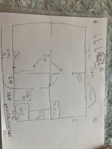 エアコンを使わずに扇風機のみで室温を下げる方法はありませんか? 図のような見取り図の家です。 北海道のため、保温効果に優れる鉄筋コンクリートに住んでいます。 エアコンを付けたいのですが、管理会社に聞いても建物の構造が不明らしく物理的に難しい可能性が出てきました。そうこうしている間にこの暑さ。 扇風機2台(タワーファンと普通の)を持っており、なんとか涼しくしたいと苦戦しています。 扇風機のみで熱気を溜めない方法はありますか?