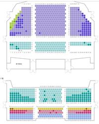劇団四季・大阪でのリトルマーメイド   はじめてリトルマーメイドを鑑賞します。   大人一人です。   現在の残りはこのような感じなのですが、  どの席がおすすめですか? 劇団四季が大好きな方、教えてください!
