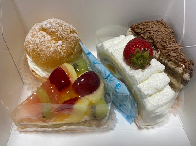 ケーキ、どれが食べたいですか?