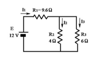 図の回路において、各抵抗の消費電力P1、P2、P3をお願いします。 図は画像にあります。