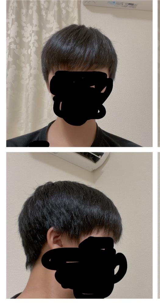 この髪型って変ですか?またなんていいますか?(髪ぼさぼさなのは気にしないでください) コイン準備してます!