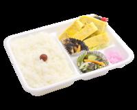 こんにちは 皆さんは このお弁当はアリですか?? 玉子焼き弁当430円です!!