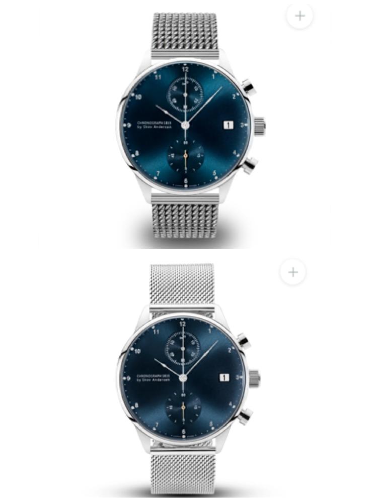 男性に時計をプレゼントしようと思っているのですが、ベルトはどちらがいいでしょうか?