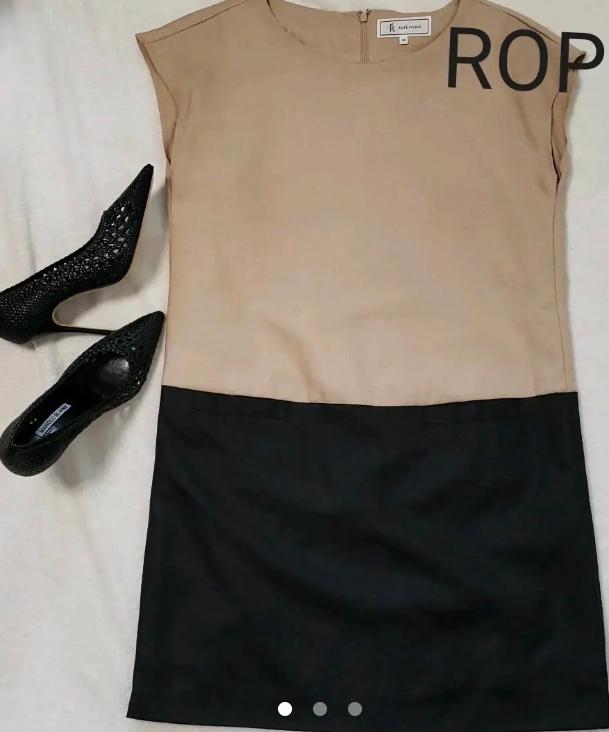 記念日デートのファッションで迷っています アラフォーで、 仕事帰り私の誕生日ディナーの服装です。 彼はどちらかというと大人っぽいファッションが好みのようです。そうするとこのようなベージュ×黒のタイトワンピースが良いでしょうか? 一般的には女性はデートだし白とか明るい色が良いと言われてるので迷っています。