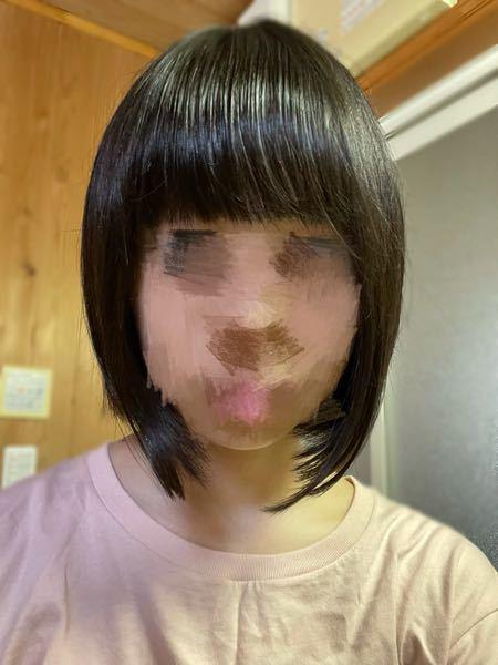 こんな感じの髪なんですけど、どうしたらましになりますか あと、ボブなのにパッツンはやっぱり似合いませんかね(><)