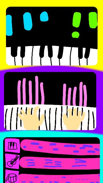 MIDIキーボードとフリーソフトについて質問します! 面倒なら本題まで読み飛ばしてもらって大丈夫です! まず前置きで。ピアノ歴十数年、電子ピアノ有りです。私は4年前からMIDIキーボードを親にねだっていました。この前買ってくれました。嬉しかったです。 そもそもなぜ欲しかったかというとePianoというサイトで色んな人と弾きたかったからなんです。 この願いが叶いました。でもせっかくのMIDIキーボード、何かほかにも使い道はないかな〜と考えたところ数年前からカッコイイなと思ってた動画を思い出しました。 ここからが本題です。その私がカッコイイと思ってた動画のイメージイラストが下の画像です。 ⒈空からカラフルな棒が降ってくる ⒉1に加え手もある ⒊MIDIデータ化 こういうのが出来るソフトはありますでしょうか。1つのソフトに〜じゃなくて全然大丈夫です。それぞれ別で構いません。せめてMIDIデータ化出来たらあとは最悪スマホでやるのでいいんですけど、パソコンに詳しくなくて苦戦中です。 できるだけシンプルでボタンが少ないソフトのご紹介をよろしくお願いします ♂️ 過去にCakewalk?というソフトを試してみたのですがたくさんボタンがあって難しかったです。今も忘れた頃に試すのですが難しいです。 スマホではwalkbandというアプリを使ってたのですが(iOSで言うとガレバンみたいなやつらしいです)walkbandはとても使いやすかったです(私がAndroid3とか4とかの頃から使ってるのもあるのかもしれませんが)。 他にもなにかオススメのソフトがあればご紹介よろしくお願い致します! 出来れば日本語がいいのですが言語の壁を越えてまで素晴らしいソフトがあれば何語でも行きます! 完全ただの趣味なのでできるだけお金はかけたくないのが本音です。お金をかけてもいい!と思えるソフトがあれば話は変わってきますがとりあえず今は無料のもので考えております。 もしどなたか何かオススメのソフトがおありでしたらご回答よろしくお願いします! ピアノ MIDIキーボード パソコン 難しいのは遠慮したいです ソフト MIDI これらは検索用キーワードです DTM ?って言うんですかね?