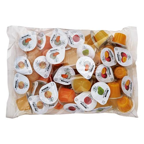 数年前(2017〜2018頃)に食べたゼリーを探してます。 そごう横浜店か高島屋横浜店の催事?で買ったのですが、一口大のカップに入ったものです。 贈答用の箱入りのものと、自宅用の袋入りのものがありました。 味は果物で何種類かありました。すべての味を覚えてはいませんが、桃と梅といちごがあった気がします。 カップ(剥がすやつ)の蓋の部分は果物の写真が印刷されていて、漢字で果物の名前が書いてあったと思います。 濃厚でおいしかったです。 検索するとベルジェレコルテにものすごく似てるのですが、ベルジェレコルテには梅味はないようなので… 過去に梅味があったこともあるのでしょうか… 私の記憶違いでベルジェレコルテかもしれませんが、何か思い当たる商品あれば教えていただけるとありがたいです。 一応商品のイメージとしてベルジェレコルテの写真載せておきます。