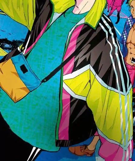 ゾン100の主人公が来ている服についてです。 1.このようなファッションはなんて系統ですか? 2.彼が着ているブルゾン?のようなものが欲しいです。ネットでなんて調べたら出てきますか? ご回答お待ちしています