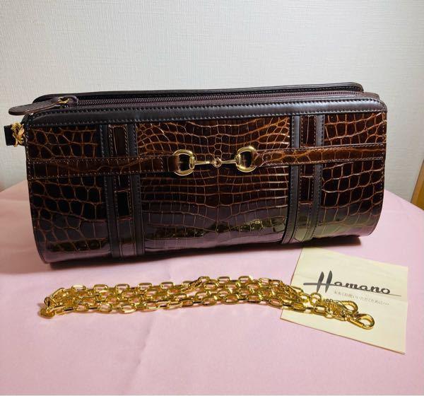 このバッグは濱野ですが、何という名称のバッグでしょうか?検索しても出てこないのでモヤモヤしています。