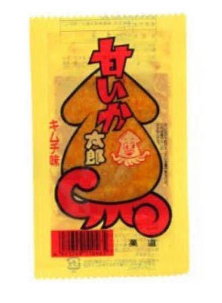 """この""""甘いか太郎 キムチ味""""美味しいですよね? 私は好きです。"""
