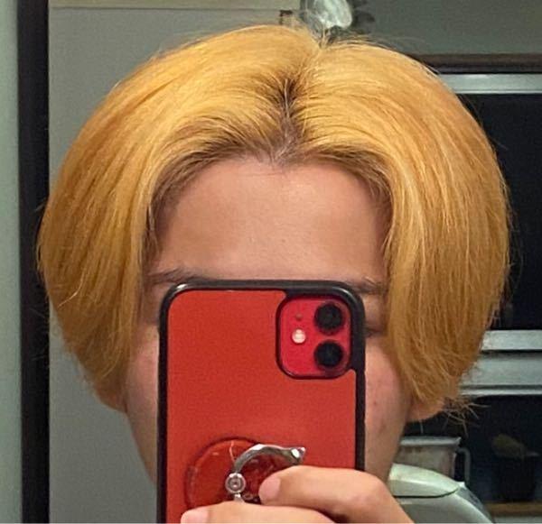 この写真のような色、ブリーチLvを教えて下さい!!また、このような色から外国人のような暗い金髪にするにはどうすればいいですか?