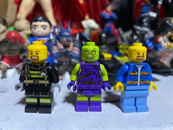 LEGOレゴブロックに詳しい方に質問です。画像のミニフィグ3体を買ったんですけどリサイクルショップで買ったので名前も書いてなくて何のシリーズか分かりません。分かる方いましたら教えてください。