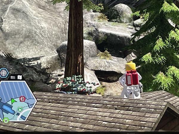 レゴシティアンダーカバーのブルーベル国立公園についてご質問します。 ただいま100%目指し頑張ってるのですが、ブルーベル国立公園のビル・ダービーがありません。 ビル・ダービーが居らず、その場所に...