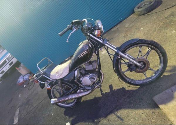 ヤマハのこのバイクの名前を教えてください。