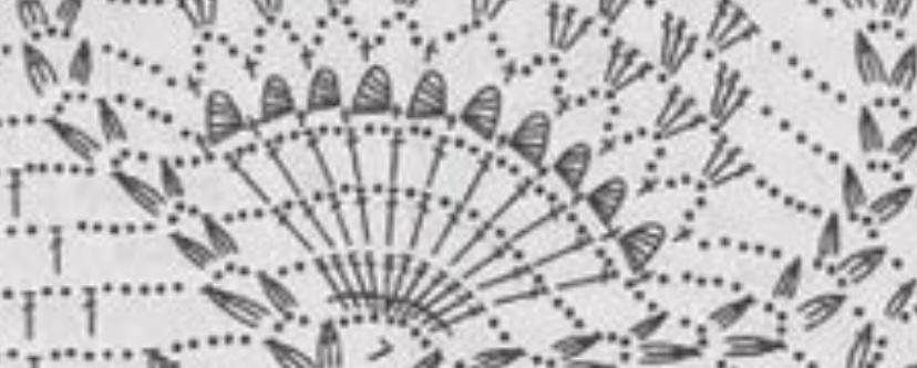 編み図のこの繭みたいな部分はどう編んだら良いでしょうか。 頑張って途中まで編んだけれど ここでつまづいてしまっております。。