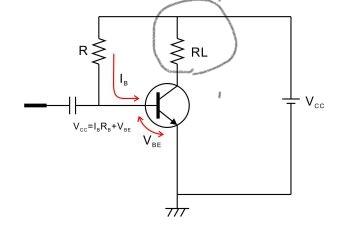 トランジスタの固定バイアス回路でコレクタにつながっている抵抗はなぜいるのですか??