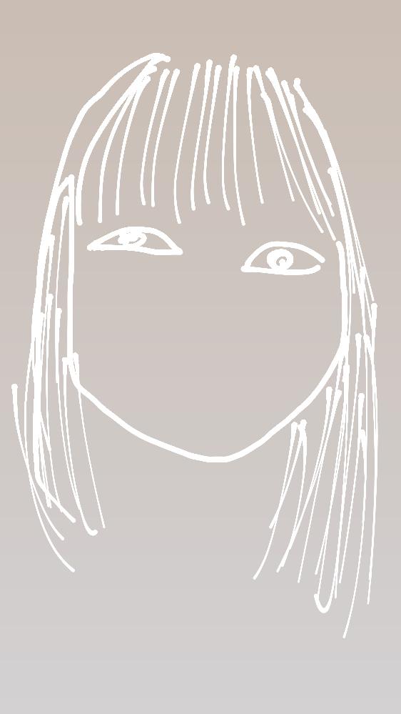 顔が左右非対称すぎて悩んでます。 自分の顔の上から写し絵みたいにしたので、少しわかりにくいかもしれませんが、左目の方が小さく、右目の方が大きいです。それから、左半分の顔は上にキュッと上がっていて...