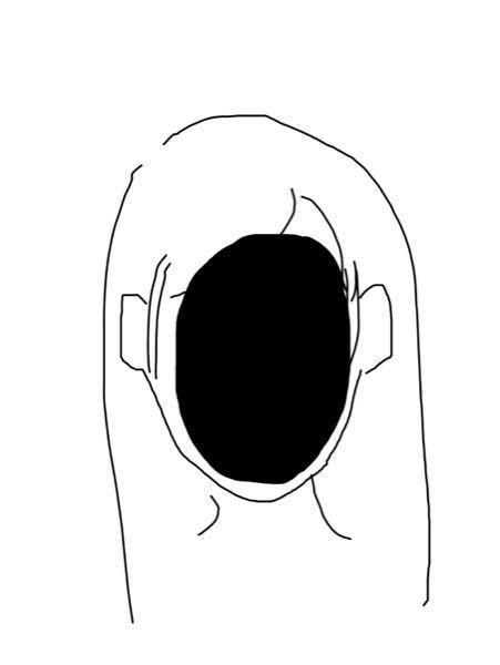 曲が思い出せないです。作った人も歌った人もわからないです。 ただイラストだけ覚えていて、こんな感じのイラストで、顔にすっぽり穴が空いてるボカロに近い曲です。 わかる方いたら。。教えてください。。。