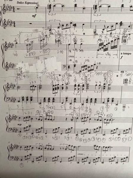 ピアノ練習について質問です。 この画像の曲を練習してるのですが、2小節ずつやってますが、中々上手くいかずゆっくりやったりしても出来ません。 気がつくと1時間とか立っててやってて悲しくなってきます泣 しかし途中で投げ出したくなくやってますがさすがに時間かかり過ぎて自分のレベルに合ってないのかなと思ってます。。。 テンポゆっくりの曲を選んだのですが、思いのほか左手が動きが早く、、、 途中までやりましたが、自分に合ったレベルの曲をやった方がいいのでしょうか?この曲を続けても時間がかかり過ぎて結局嫌になってピアノそのものが嫌いになってしまいそうで心配です。 ご意見をお待ちしております。 よろしくお願い致します。