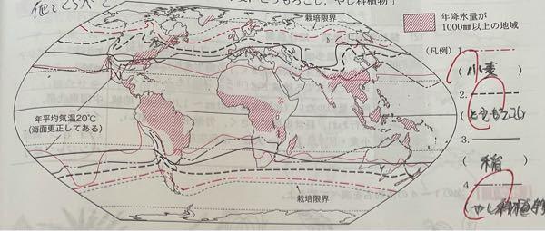 栽培限界の見方は 北半球と南半球の線の間が 育てれるところ と言う見方でいいんですか? 、 でもそれだったら全種類 熱帯で育てれることになってしまいますよね?
