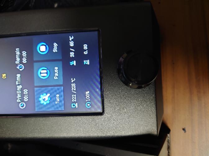 3Dプリンター ender3 v2について スライサーソフト(cura)で速度を30mm/sにしたのですがプリンター本体の画面では100%と表示されているのですがちゃんと反映されていますか?