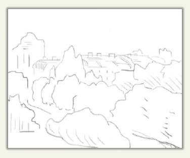 暇すぎたので、またラフりました 空想画です 感想お願いします
