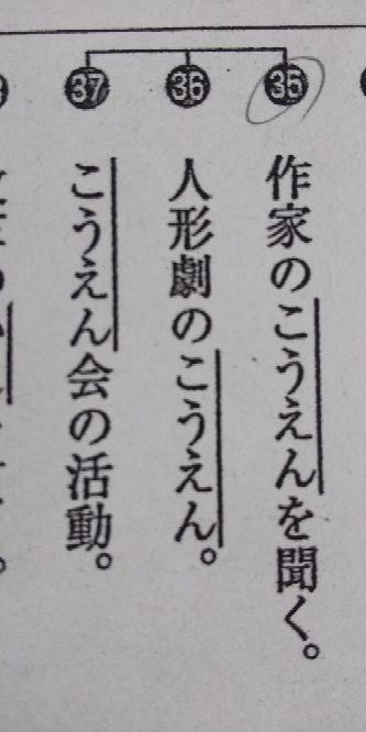 それぞれどの漢字か教えてください!