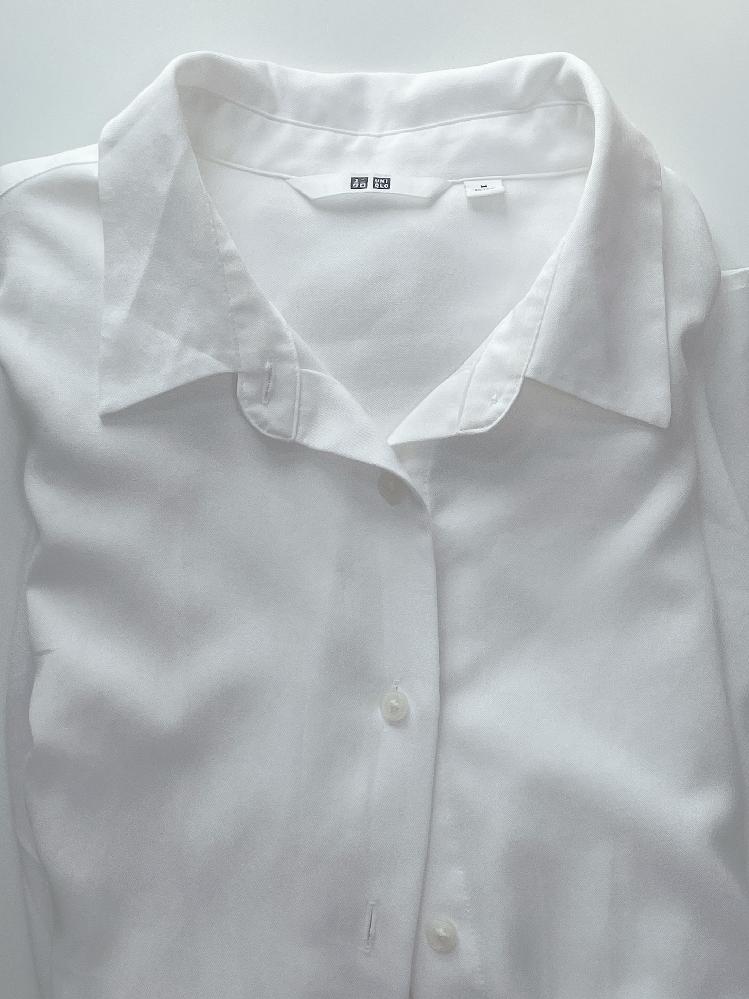 ワイシャツとブラウスの違いについて。 明後日単発のアルバイトに行くんですけど、服装の指定が白のワイシャツなんです。私は襟付きの白い長袖のブラウスを持ってるのですが、これはワイシャツの代用として大丈夫でしょうか? 素材はレーヨンとポリエステルでできていて、柔らかめです。