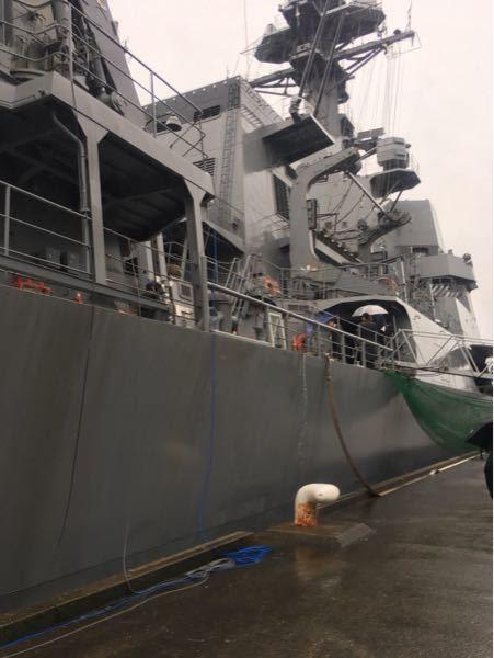 海上自衛隊横須賀基地の艦隊なのですが、この船の詳しい名前わかる人いますか?