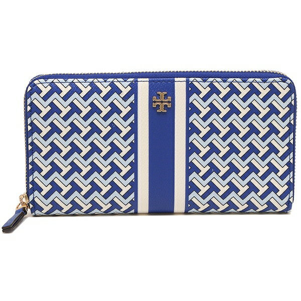 この財布に似たブランドを探しています。 ・青色の横三角のようなマークが敷き詰められている。 ・色は黒色ベースの茶色?茶色ベースの黒色?黒と茶が半分? メインは、黒と茶の2色を利用。 ・FENDI、MICHAEL KORSではありません。 ・写真中央にある金色?ぽいのものは無く、三角ぽいマークが全体を覆っています。 ・値段もそこそこしたはず ・財布だけでなく鞄も見かけます 以上、覚えている情報はこれだけですが、思い当たるブランドがあれば教えてください。