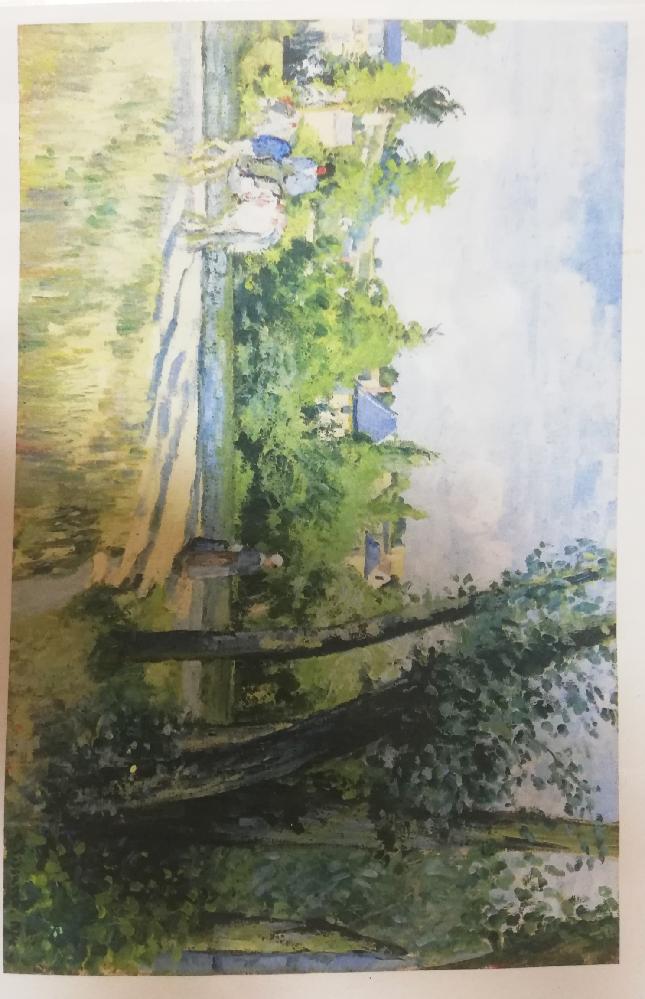 この絵画の作品名、または作家名分かる方教えてください(´;ω;`)