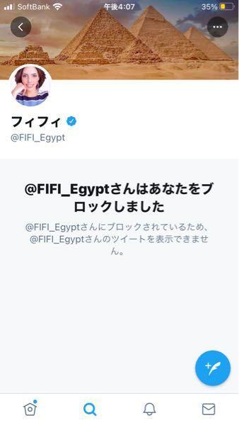 フィフィさんにブロックされました…() Twitter見てみるとエゴサして片っ端からブロックしてるそうです…笑 なんかありえないですよね。 皆さんはどう思いますか?