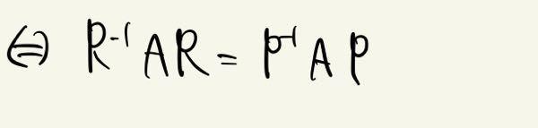 変な人の回答がついたので再度 大学線形代数の問題です。添付の写真が示せたらP=Rと言えますか? ベストアンサーちゃんと出しますので教えていただけたら幸いです。