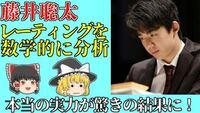 藤井聡太の本当のレーティングは2162だそうですが、これについてどう思いますか? https://youtu.be/LGn3t5y-0LM
