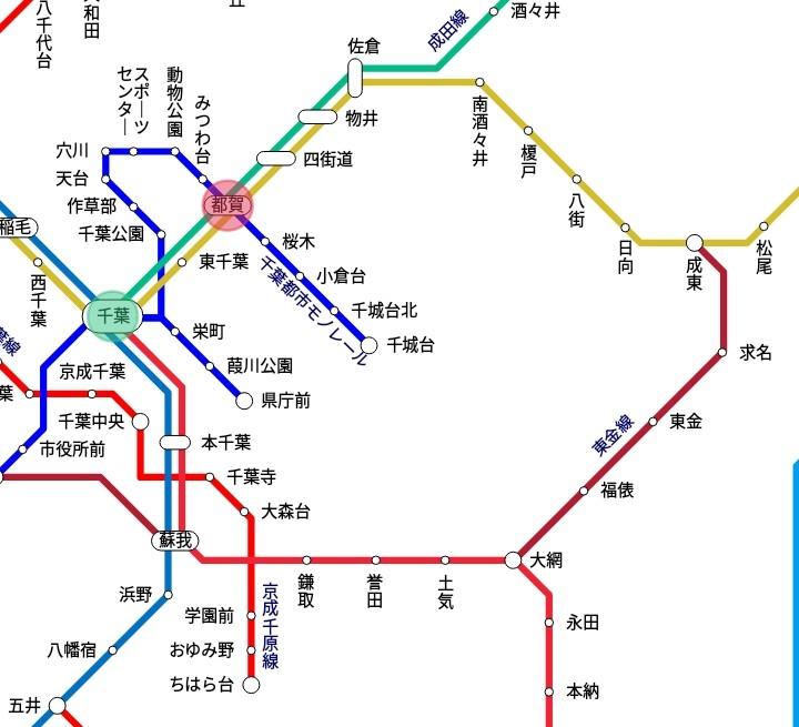電車の定期券について質問です。 千葉駅から都賀駅間の定期券を持っているとしたら、 千葉で外房線に乗る→大網で乗り換えて東金線に乗る→成東で総武本線に乗り換える→都賀で降りる でも定期券は使えるのでしょうか? 遠回りして帰るなんてことは中々無いと思いますが気になったので質問しました。ご回答よろしくお願い致します。