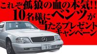 孤狼の血level2で松坂桃李演じる日岡の愛車のベンツは何と言うモデルでしょうか?