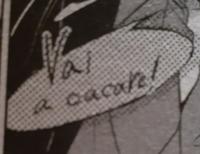日本語訳でどういう意味ですか?漫画のセリフでキャラクターの出身はイタリアです。