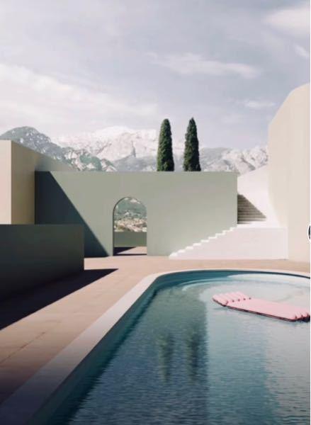 この写真みたいなよく分からない感じの場所が好きなんですが、こういう建物をモダン?と言うのですか?