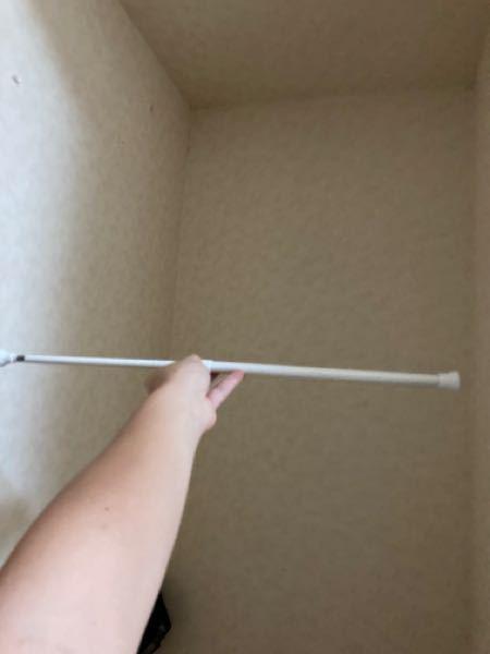 クローゼットに突っ張り棒を付けて服かけようと思ってたんですが全然長さ足りなかったんですけどどうすればいいですかww