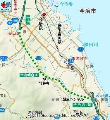 愛媛県の今治小松道路は何時全通するのですか?