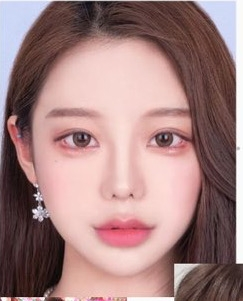 この韓国の女の子の名前分かりますか?