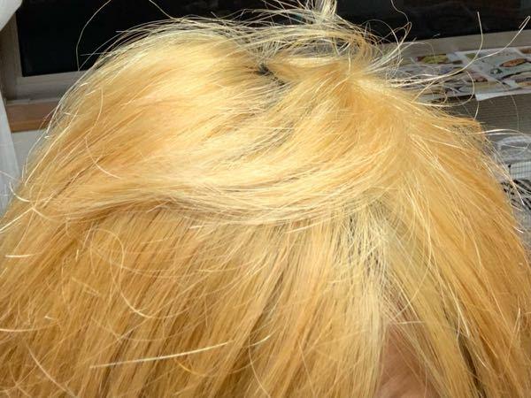 ここから髪を白くするにはどうすればいいですか?