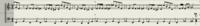 これの音階を教えてください。  ミ♭ レ♭ ラ♭ が使われています。