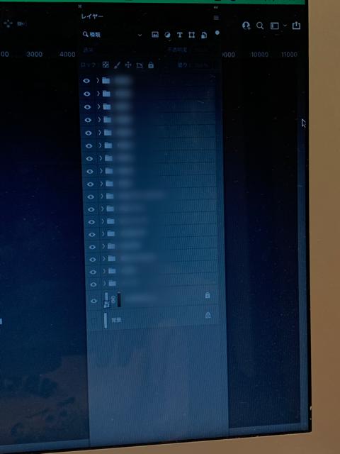 photoshop レイヤー ウィンドウの縦幅が変更できません。 photoshop レイヤー ウィンドウの縦幅が変更できません。Macを使っています。 ふちにカーソルを合わせればサイズ変更が出来ると思うのですが、急に出来なくなってしまい、一番下のファイル・マスク作成等のボタンが押せなくなってしまいました、、、 レイヤーウィンドウごと下に動かし、上のふちに合わせても何も出ません。ちなみに横幅は変更出来ます。 photoshopアップデート、再起動、レイヤーの出し直しは試しました。 作業が進まず大変困っております、、、 ご存知の方いらっしゃいましたら知恵をお貸し下さいませ。 お読みいただきありがとうございます。