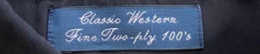 古着でPolo by Ralph Laurenのシャツを購入したところ、タグの下に、Fine Two-ply 100's と書いてありました。 自分でも調べて見たのですが、糸の織り方?に関係あるのかな程度のことしかでてきませんでした。どのような意味なのでしょうか? どうぞよろしくお願いします。