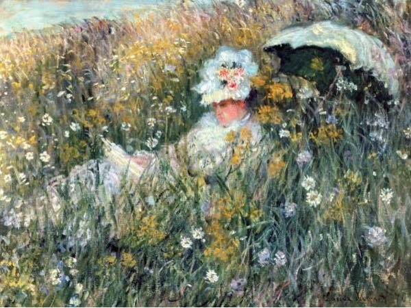 クロードモネのこちらの作品はどこで描かれたものでしょうか?アルジャントゥイユでしょうか?