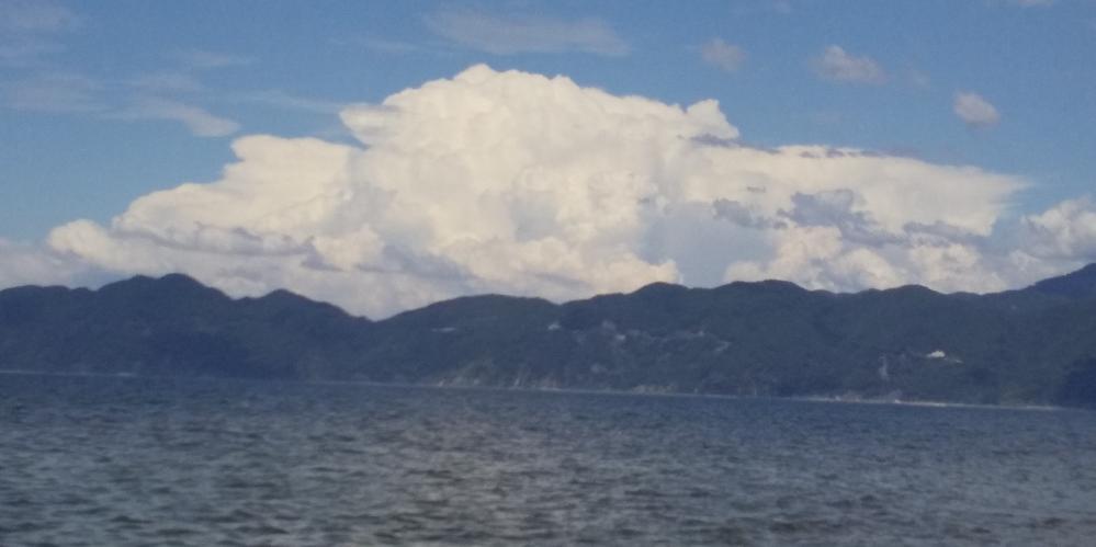 この雲は積乱雲ですか?