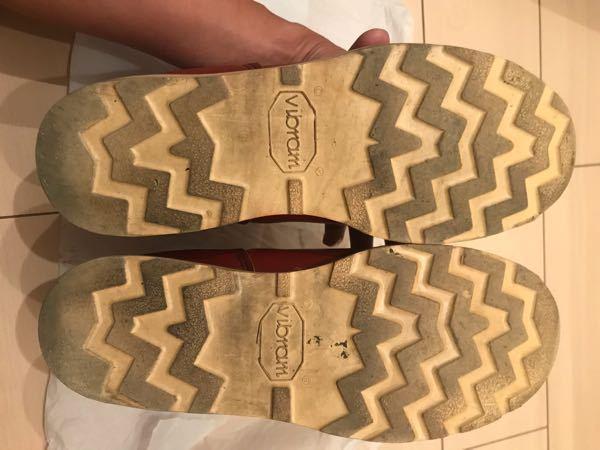 革靴のこのブランドなんて読むかわかりますか?