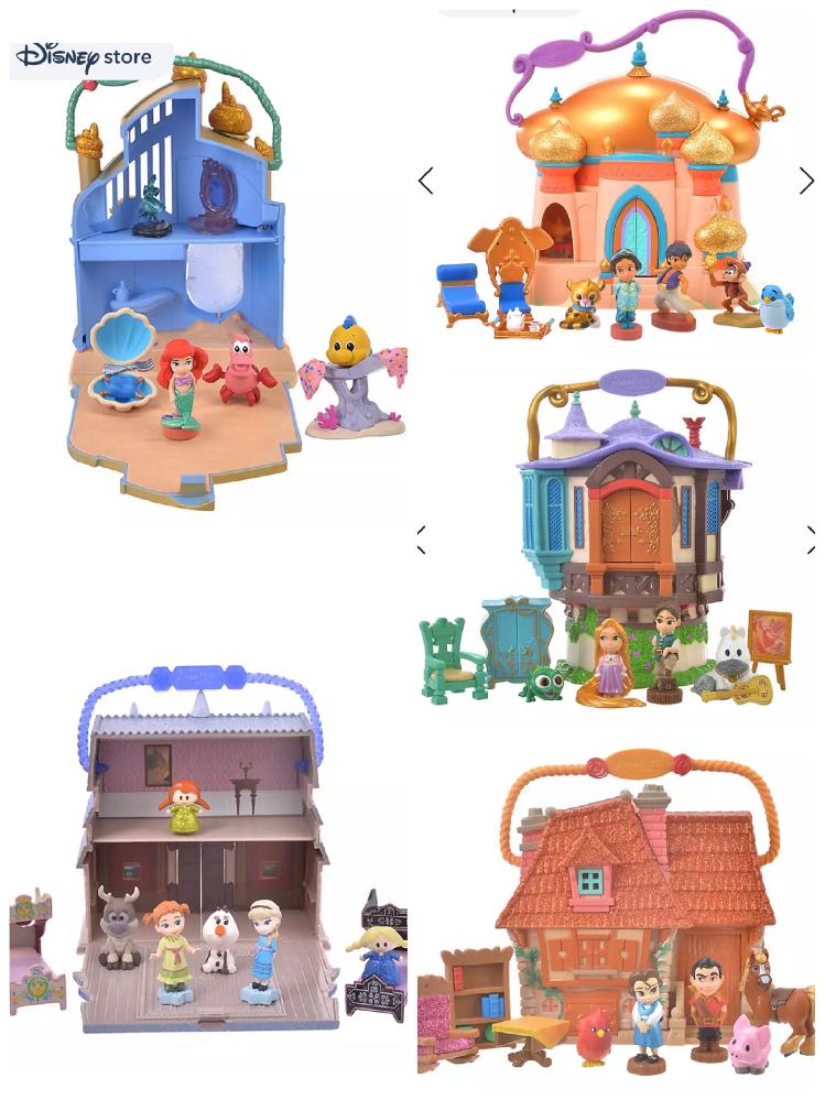 ディズニーストア Shop Disney のアニメーターズコレクションリトルズについて質問です! 今のところリトルマーメイド とアナ雪のセットを購入しようと思っているのですが、シークレットが何が...